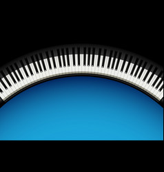 Piano background 3 vector