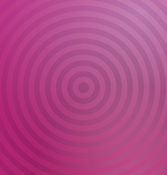 Pink background design with concentric circles vector