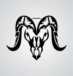 Aries Sign vector image vector image