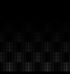 Carbon dotted wave step seamless pattern abstract vector