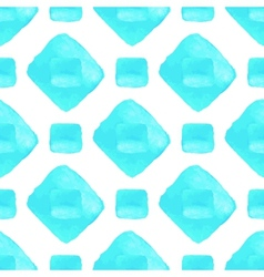 Sky blue seamless pattern Watercolor vector
