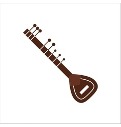 indian musical instrument vector image