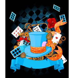 Wonderland design vector image
