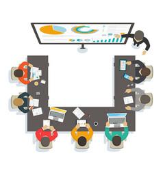 Business seminar vector