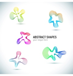Abstract Business Design elements set vector image