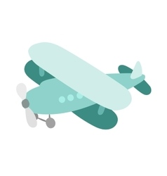 Air plane cartoon toy vector image