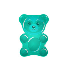 jelly bears set vector image