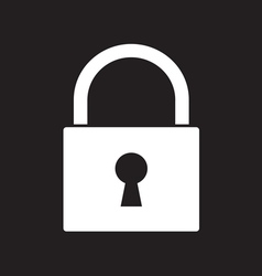 Lock icon2 vector image