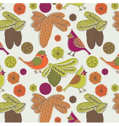 Nature birds wallpaper vector