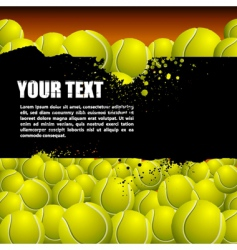 balls background vector image