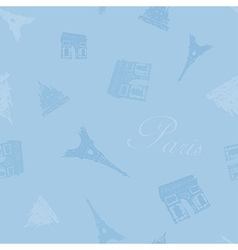 texture france blue seamless vector image