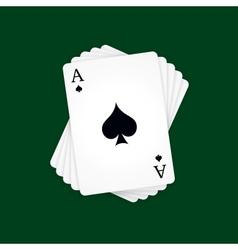 Ace spades vector
