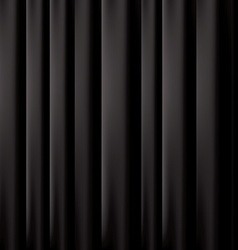 Black curtain background EPS 10 vector