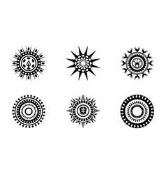 Circle abstract design vector