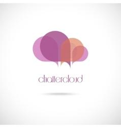 Creative cloud symbol vector
