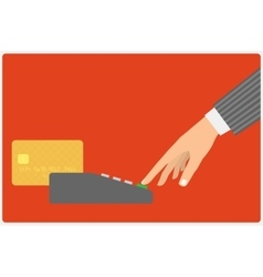 Credit card spend vector