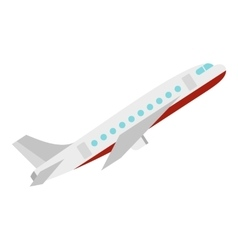 Plane icon flat style vector image