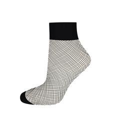 short fishnet socks vector image