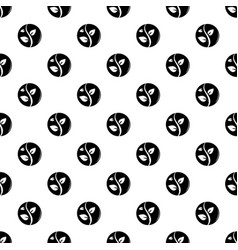 sprout pattern seamless vector image