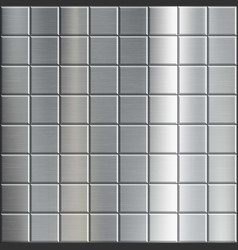 texture brushed metal with a geometric pattern vector image