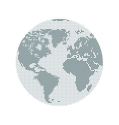 world internet modern digital technology travel vector image
