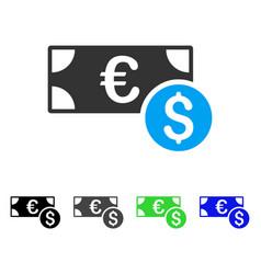 Cash flat icon vector
