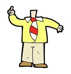 comic cartoon body mix and match comic cartoons or vector image