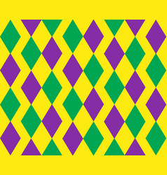 Mardi gras abstract geometric pattern purple vector