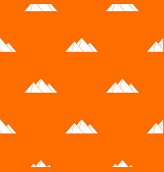Pyramids pattern seamless vector