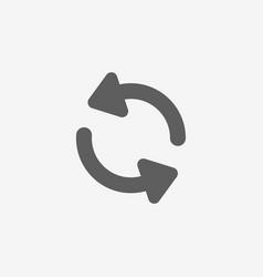 Universal arrow icon vector