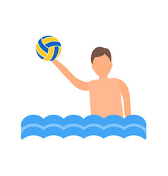 Water polo vector