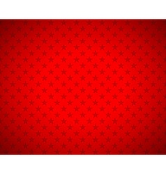 Red stars background vector image vector image