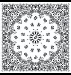 bandana vector image