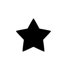 Bookmark star icon vector