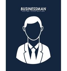 Businesman avatar vector
