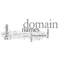 Domain name profits vector