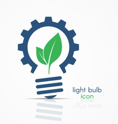 Light bulb idea icon sign symbol emblem vector image