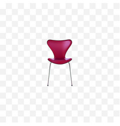 realistic seating element of vector image