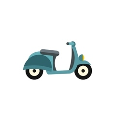 Scooter icon flat style vector image