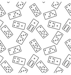 seamless domino pattern vector image