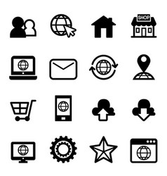 Website internet icon vector
