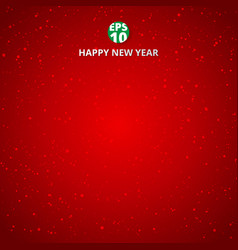 happy new year and merry christmas on red blurry vector image
