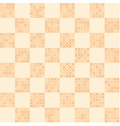 Abstract cross-stitched pattern seamless vector