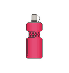 Bottle water modern flat icon vector