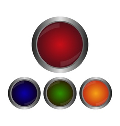 buttons icons vector image