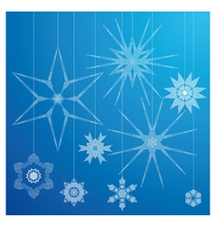 Christmas designs I vector image