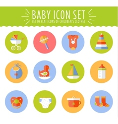 concept flat design cute vector image