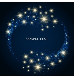 Festive Star Background vector image