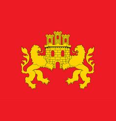 Flag cuadrilla de zuia in basque country vector