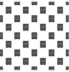 safe money box pattern seamless vector image